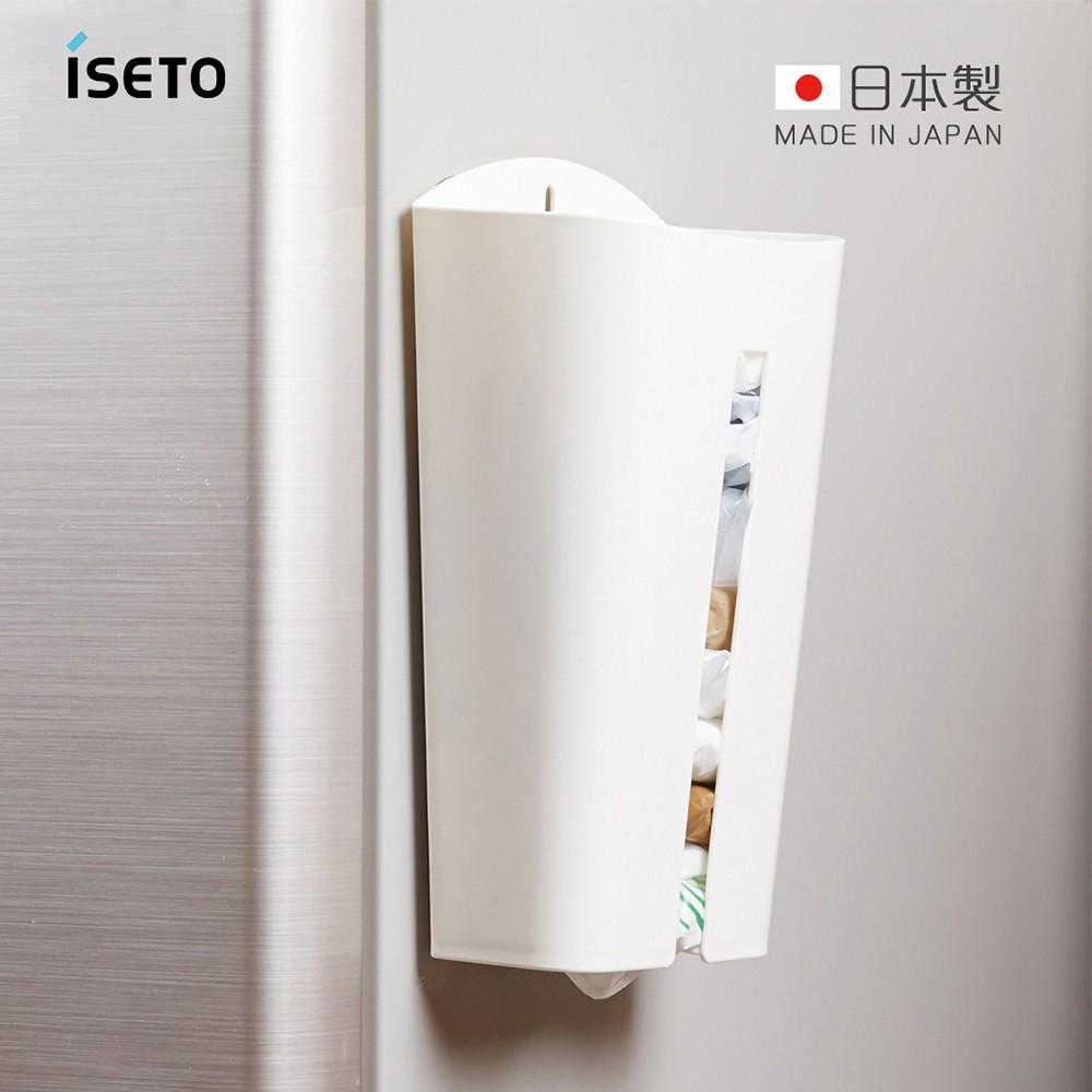 【日本ISETO】日製塑膠袋收納存取架