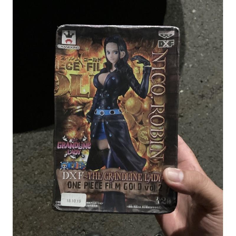 海賊王 金證 日版 黃金城 羅賓 索隆 薩波 魯夫 羅 頂上 DXF 和之國 標準盒公仔
