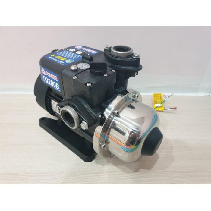 【優質五金】大井 TQ200B 1/4HP電子穩壓加壓馬達*加壓機*低噪音 新款抗菌環保 非舊款 TQ200