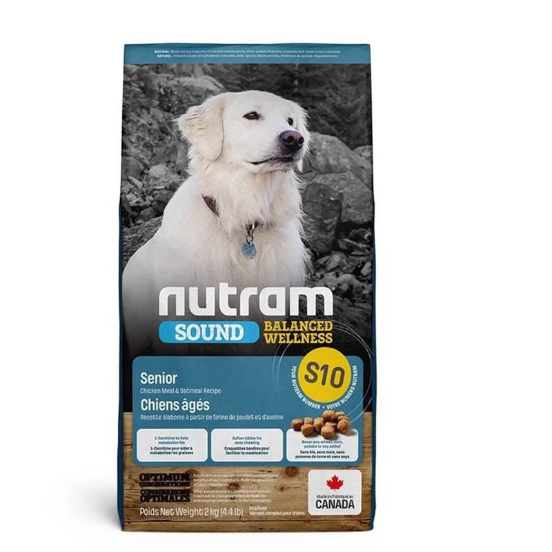 紐頓 S10 老犬 雞肉燕麥配方 全能營養食品 無需維生素或礦物補充劑 健康天然狗糧的配製新鮮水在任何時
