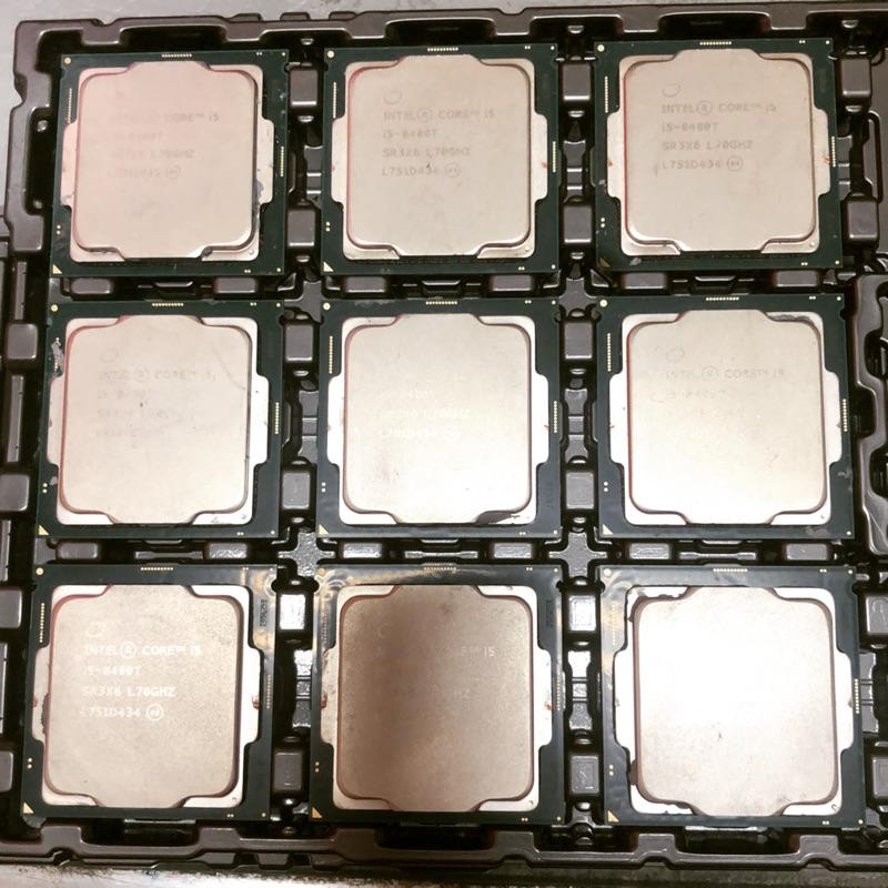 拆機良品 i5-8400t 8400 8500