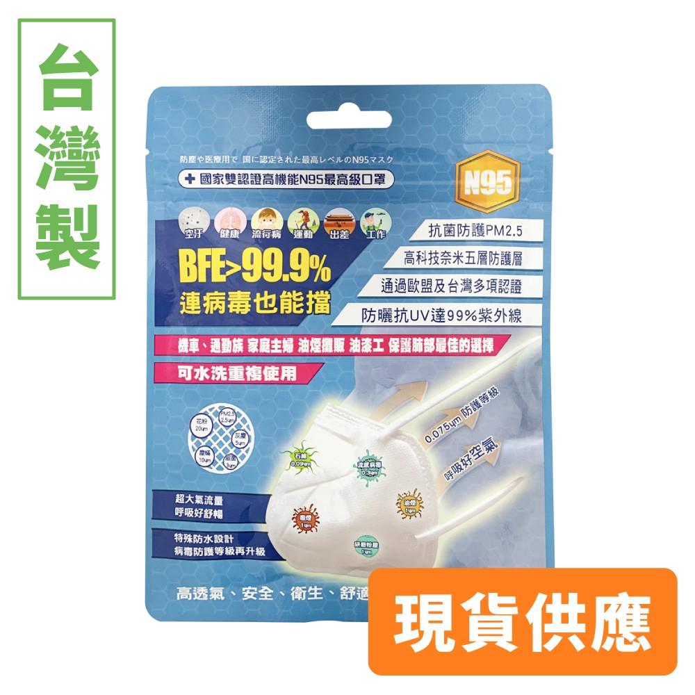 口罩-醫用口罩-台灣精碳N95醫用口罩