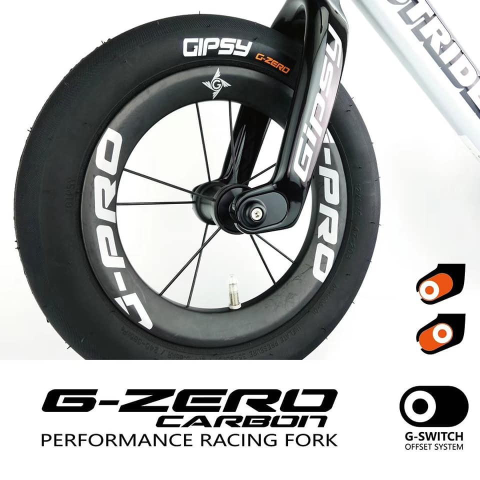 {嬰樂 PUSH BIKE}Gipsy 滑步車 碳纖維改裝前叉 適用:strider pro