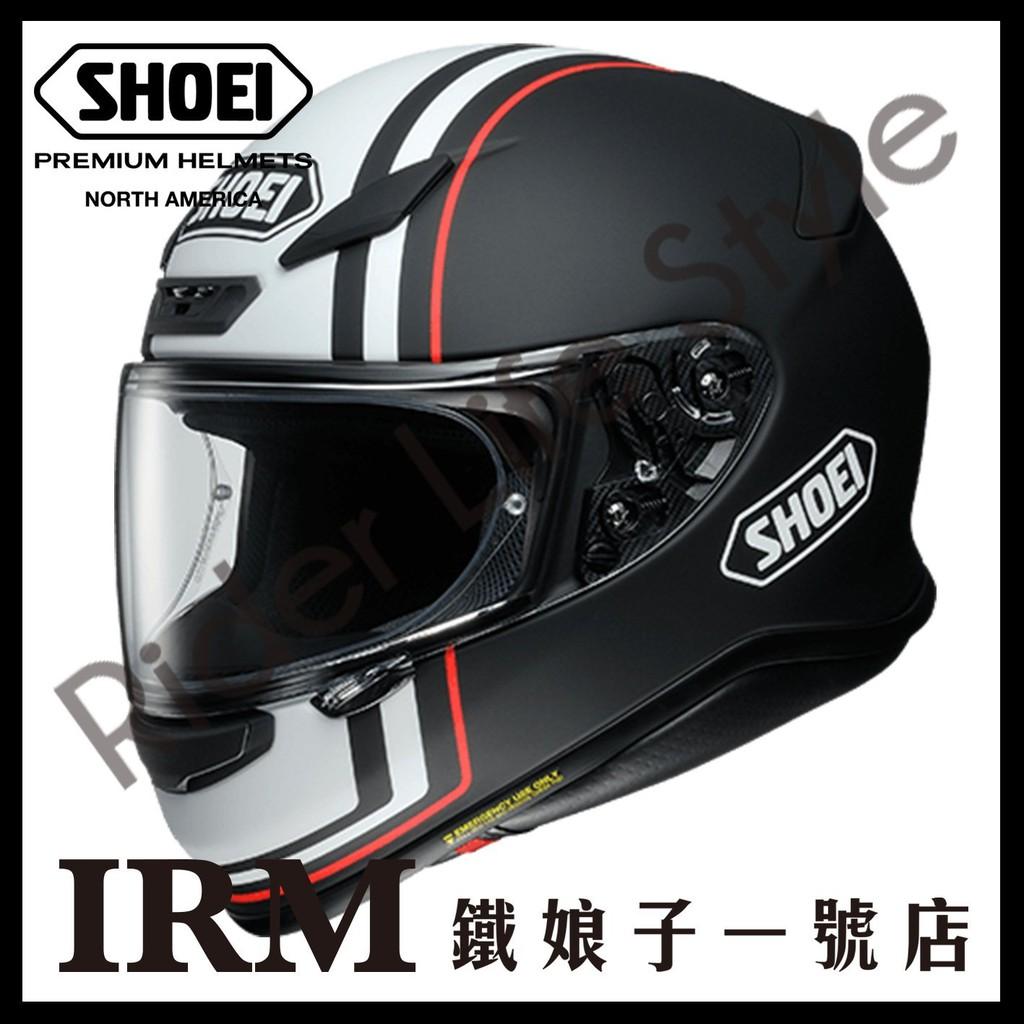 【鐵娘子一號店】日本 SHOEI Z-7 安全帽 輕量 Z7 2018 新花色ECOUNTER TC-5 黑白