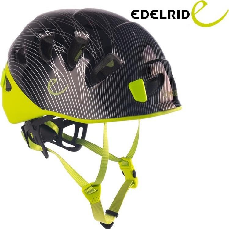 EDELRID 德國 Shield II 頭盔/岩盔/攀岩/溯溪 72036 200170 黑綠