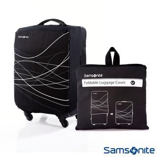 Samsonite新秀麗 摺疊可收納彈性託運李箱保護套M+號 28吋~30吋(黑) 台北市