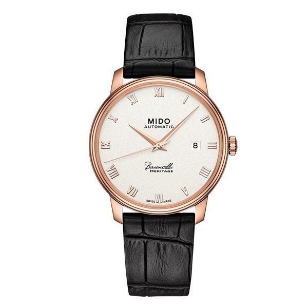 MIDO美度 Baroncelli Heritage永恆系列復刻腕錶/39mm (M0274073601300)