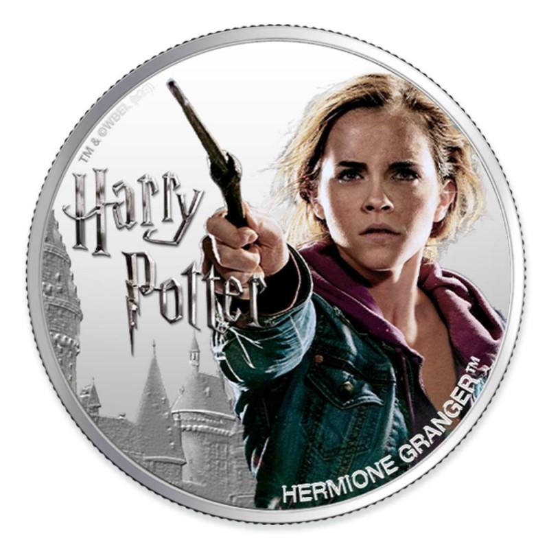 預購 - 2020斐濟-魔法世界系列-妙麗·格蘭傑-1盎司銀幣