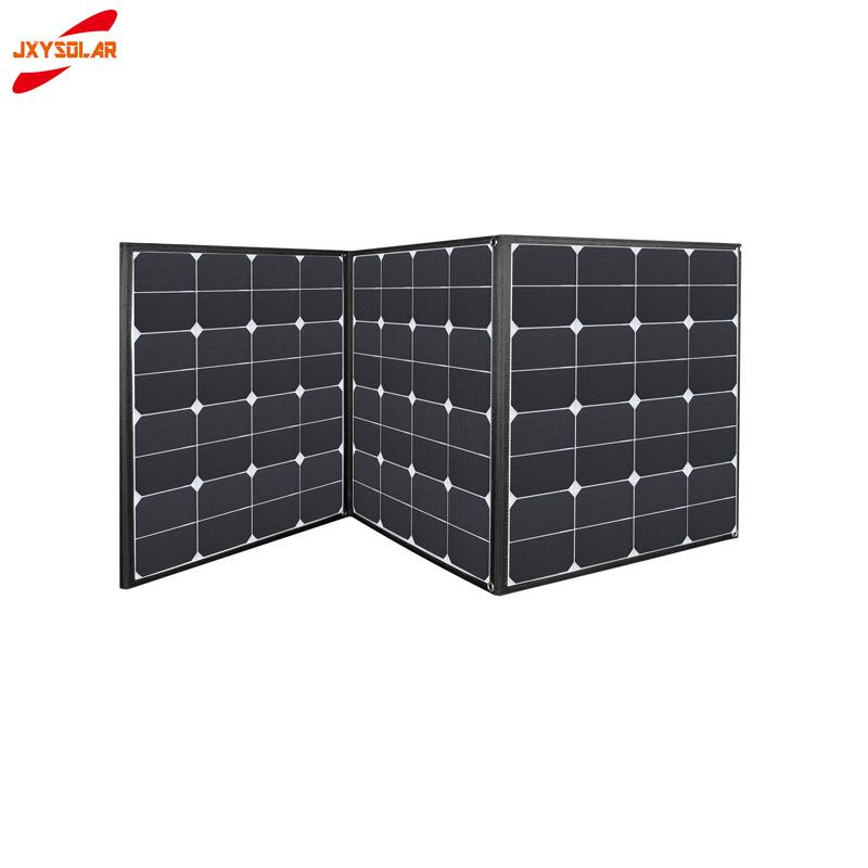 預購 廠家直銷 SUNPOWER 150W太陽能折疊包 戶外便攜太陽能充電包