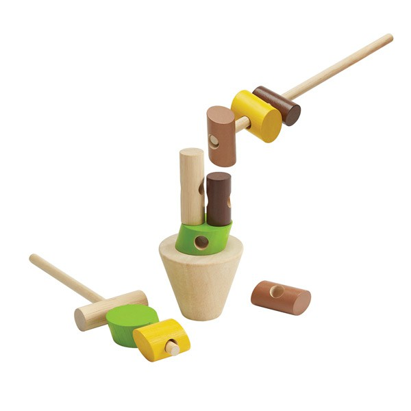 泰國Plantoys 益智玩具-串燒疊疊樂