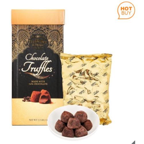 好市多=代可可脂松露巧克力禮盒Truffettes De France 1kg=現貨