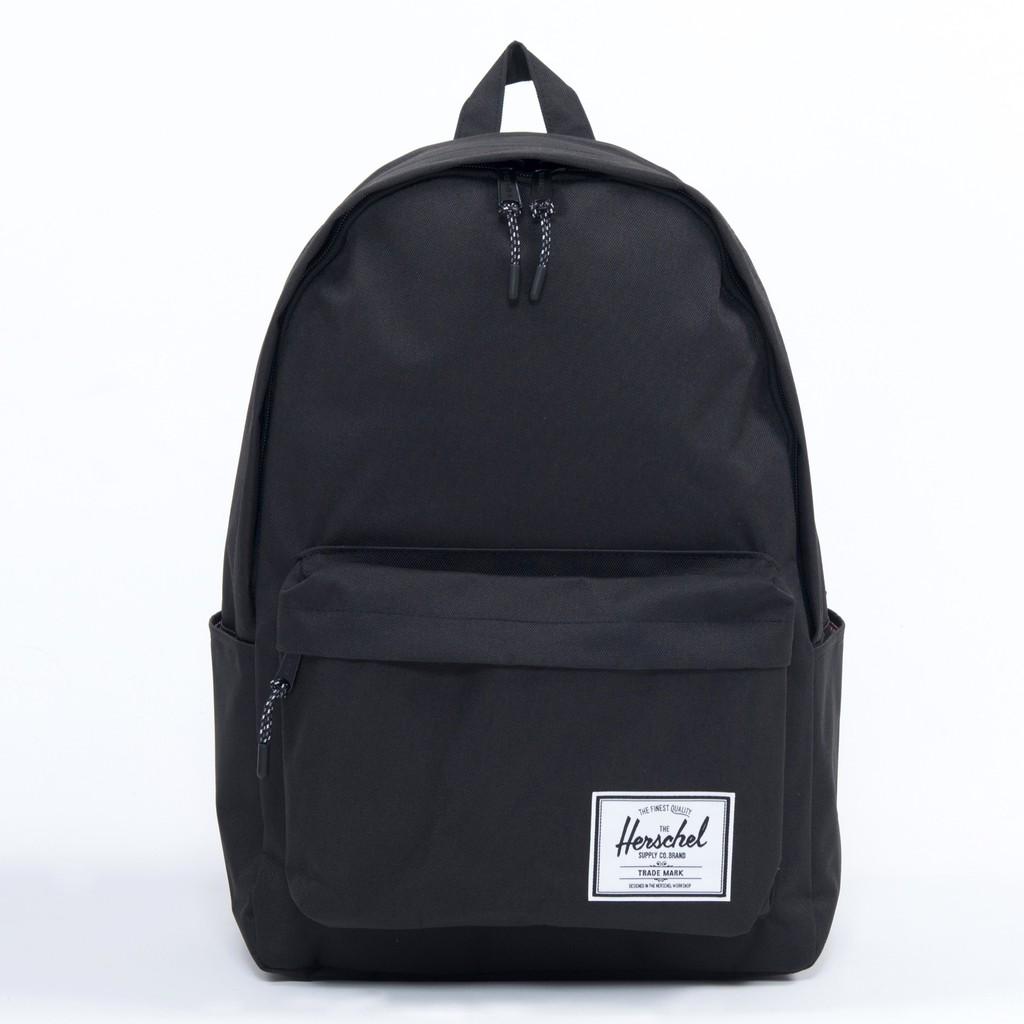 Herschel Supply Classic XL 特大 黑色 全黑 帆布 防潑水 水壺 書包 大容量 後背包 現貨