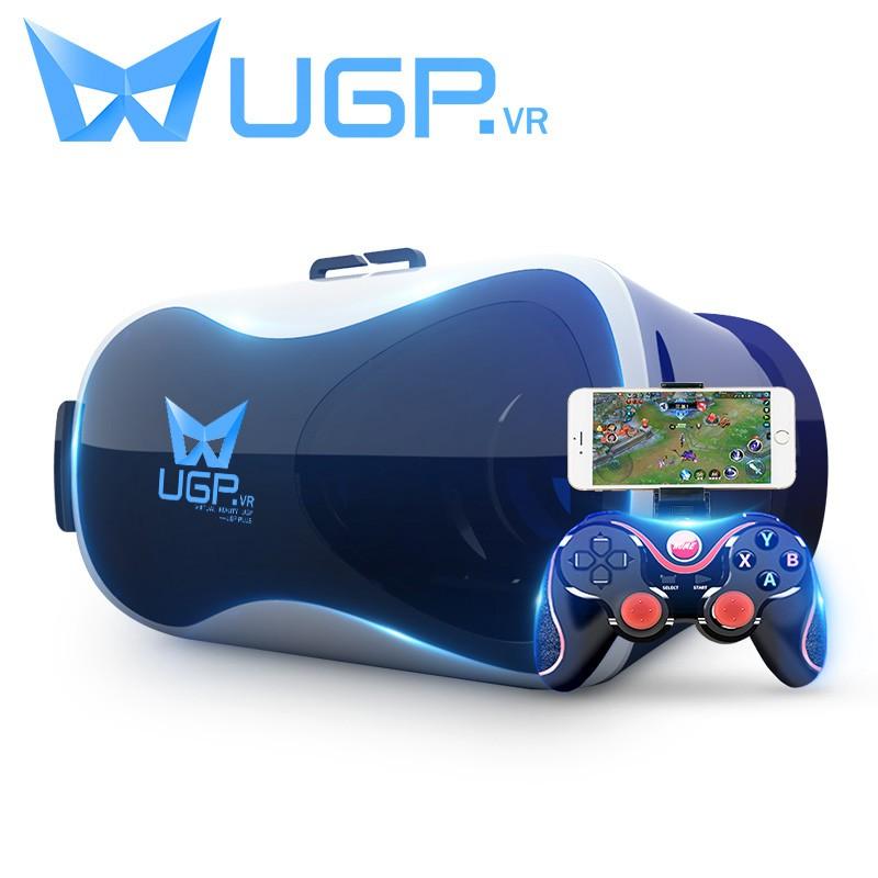 HQ-UGP vr眼鏡虛擬現實3D眼鏡一體機愛奇藝vr電影手機專用4d智能影院