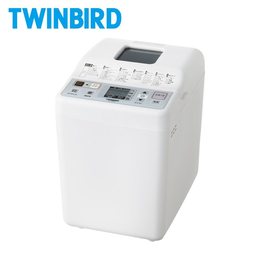 日本TWINBIRD-多功能製麵包機PY-E632TW(領券折300)