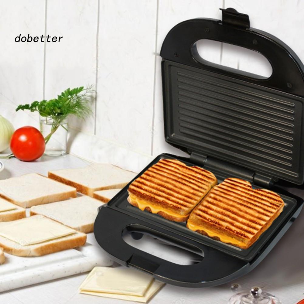 【Do.CFDQ】電動三明治機烤板烤麵包機早餐華夫餅麵包機