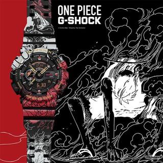 實拍 CASIO 卡西歐手錶 G-SHOCK x ONE PIECE航海王聯名錶款 運動電子表 GA-110JOP-1A