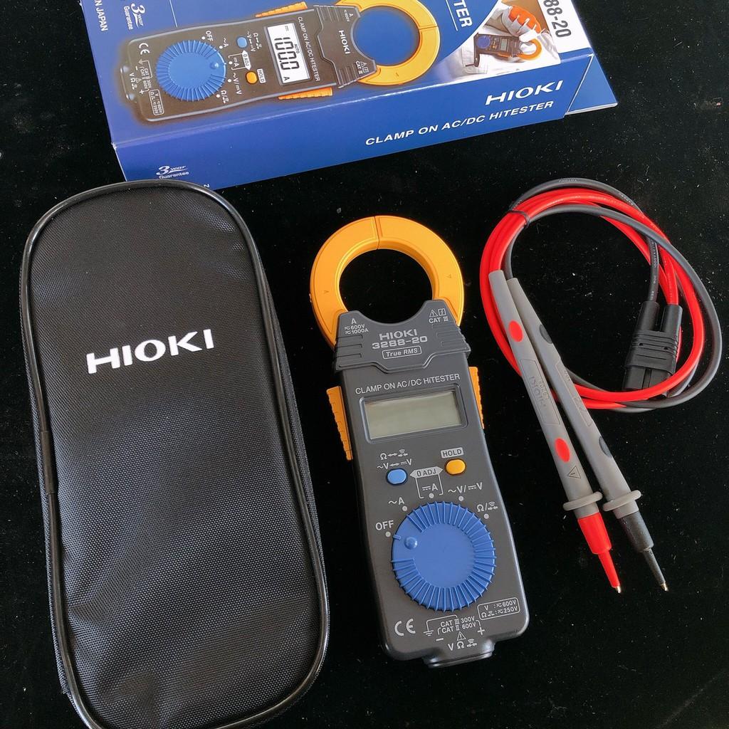 【全電行】高雄HIOKI專賣│HIOKI 3288-20 交直流勾錶 真有效值 保固三年