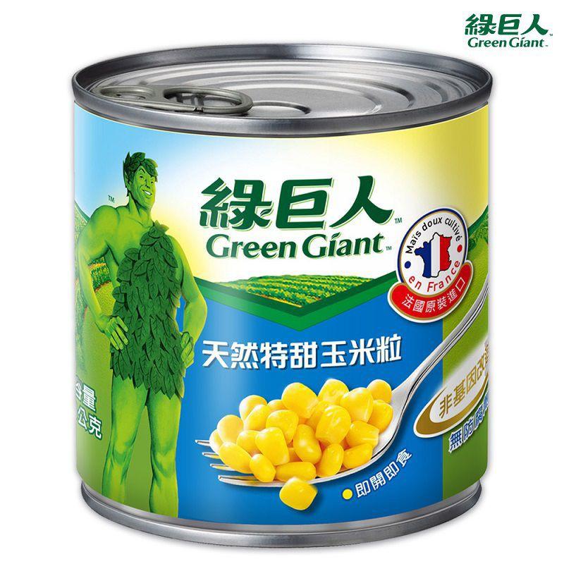 綠巨人天然特甜玉米粒-340g
