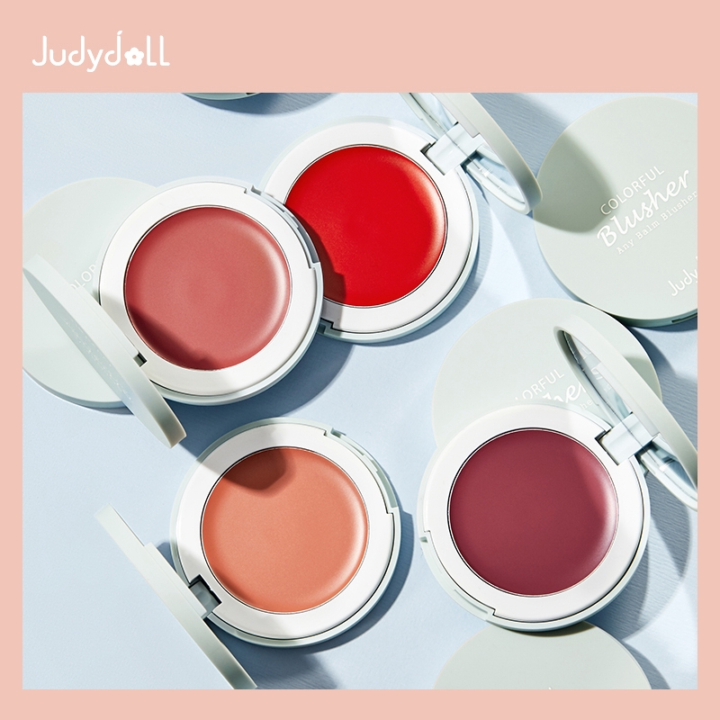 Judydoll橘朵絲緞蜜潤腮紅膏柔滑細膩持妝少女元氣腮紅顯白氣質