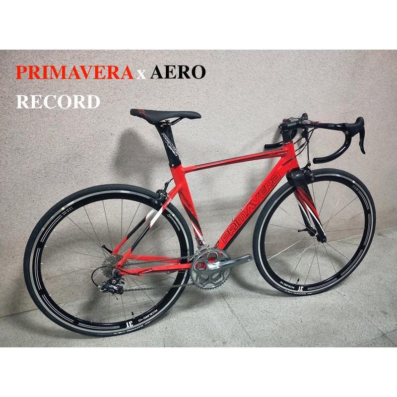 紀錄單車 出售 台灣之星 普利馬 Primavera festino 鋁合金車架組 碳纖維 前叉 坐管