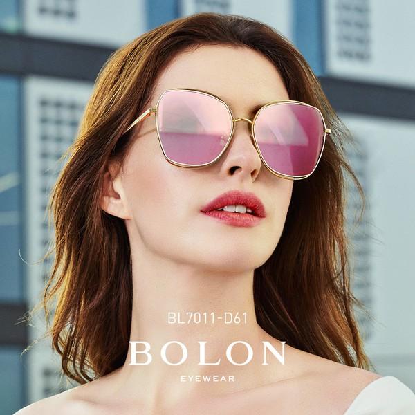 【BOLON 暴龍】大矩方框流行太陽眼鏡 明星代言款 BL7011