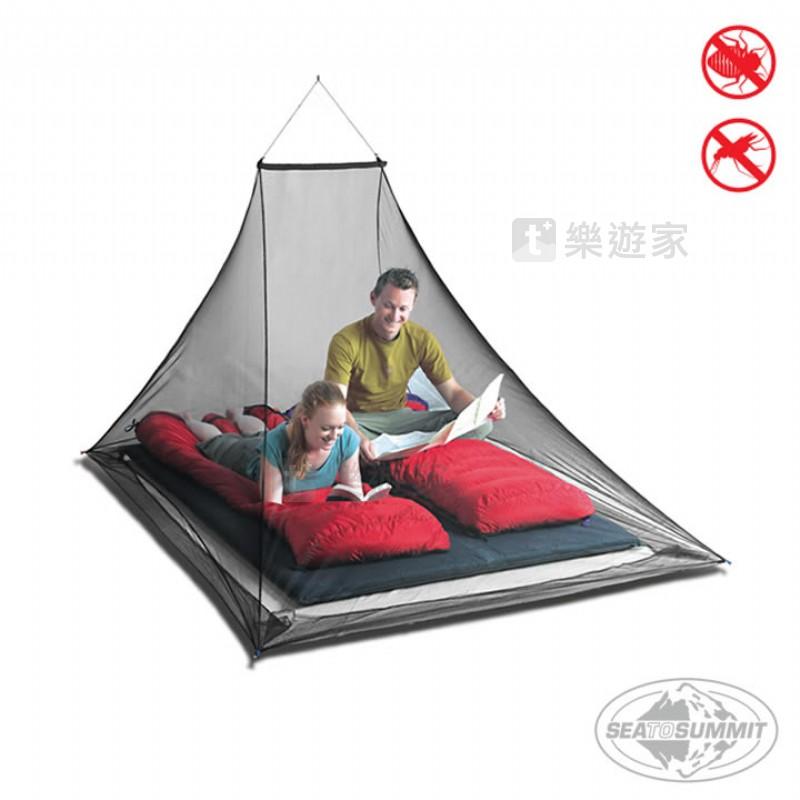 [款式:STSAMOSDP-BLK] SEATOSUMMIT 雙人防蚊帳(驅蚊處理)(黑色)