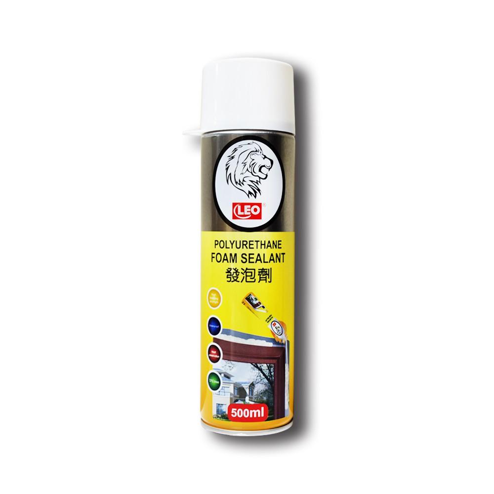 獅子PU 填縫發泡劑 裂縫填補 隔熱 隔音 防水 防塵 500ml