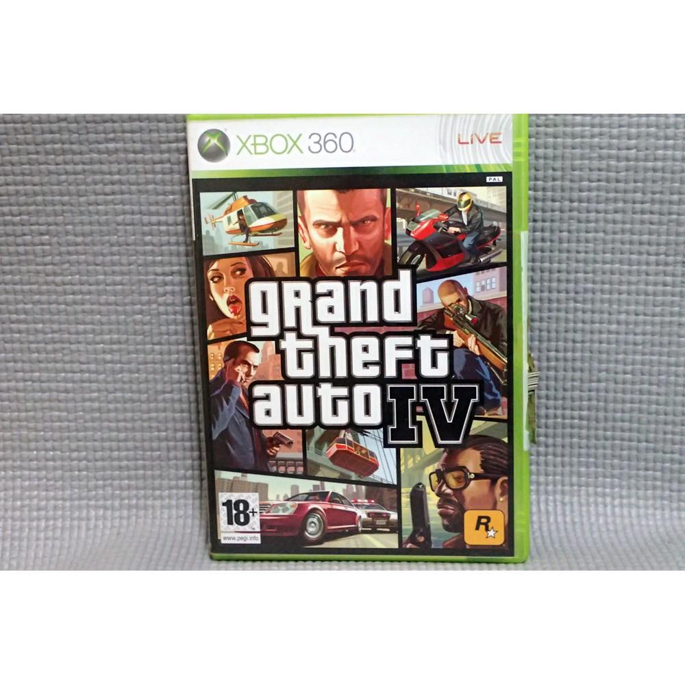 XBOX 360遊戲  GTA4 俠盜獵車手4