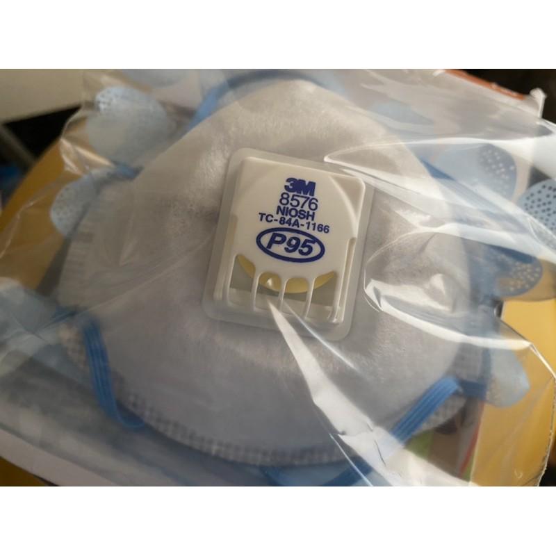 【現貨】3M 8576 P95 酸性氣體及顆粒物防護口罩