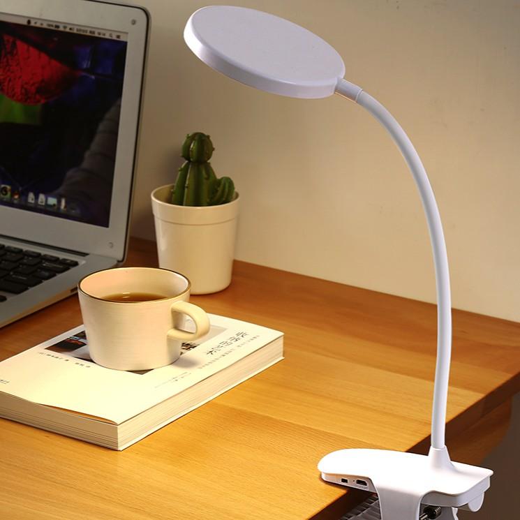 小檯燈護眼書桌學生宿舍學習專用充電插電兩用led颱風臥室床頭燈