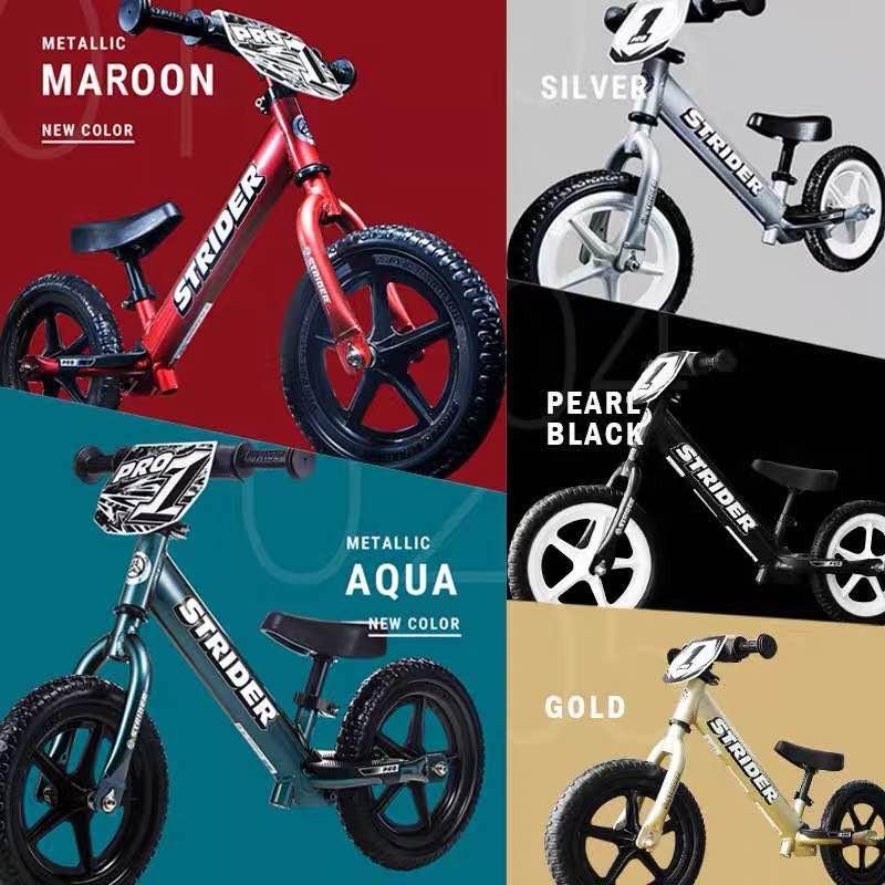 STRIDER sport pro系列兒童平衡車1-3-6歲滑步車學步車無脚踏自行