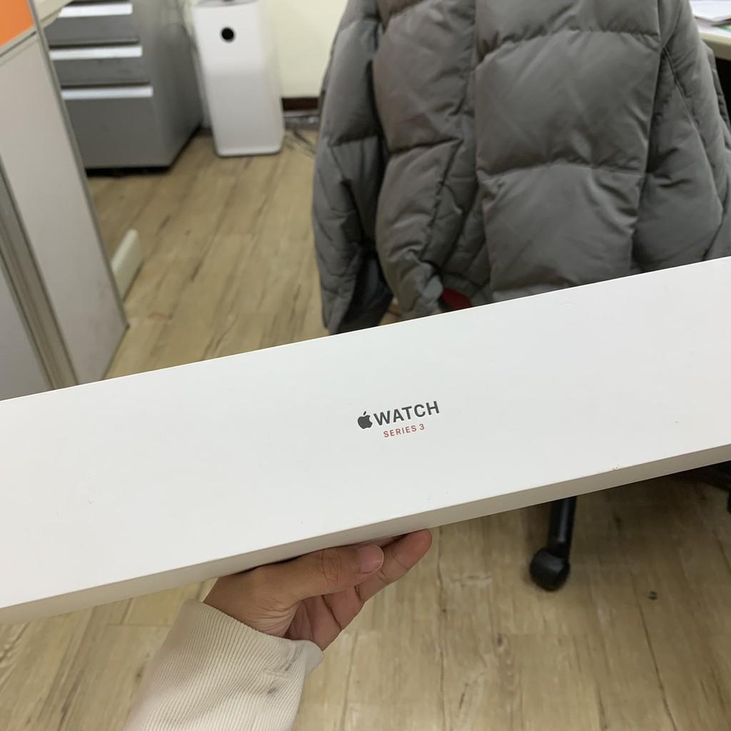 【福利品 未開通】Apple Watch S3 38mm LTE版太空灰鋁黑錶帶