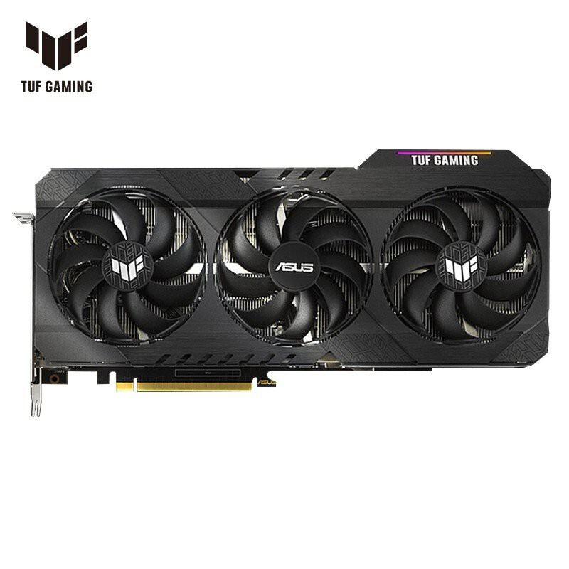 華碩TUF-RX6800/RX6800XT-O16G-GAMING AMD高端發燒遊戲獨立顯卡 lzoa