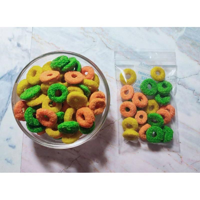 分裝 綜合玉米甜甜圈 🌽 分裝 倉鼠零食 倉鼠點心 黃金鼠零食 黃金鼠點心 倉鼠飼料