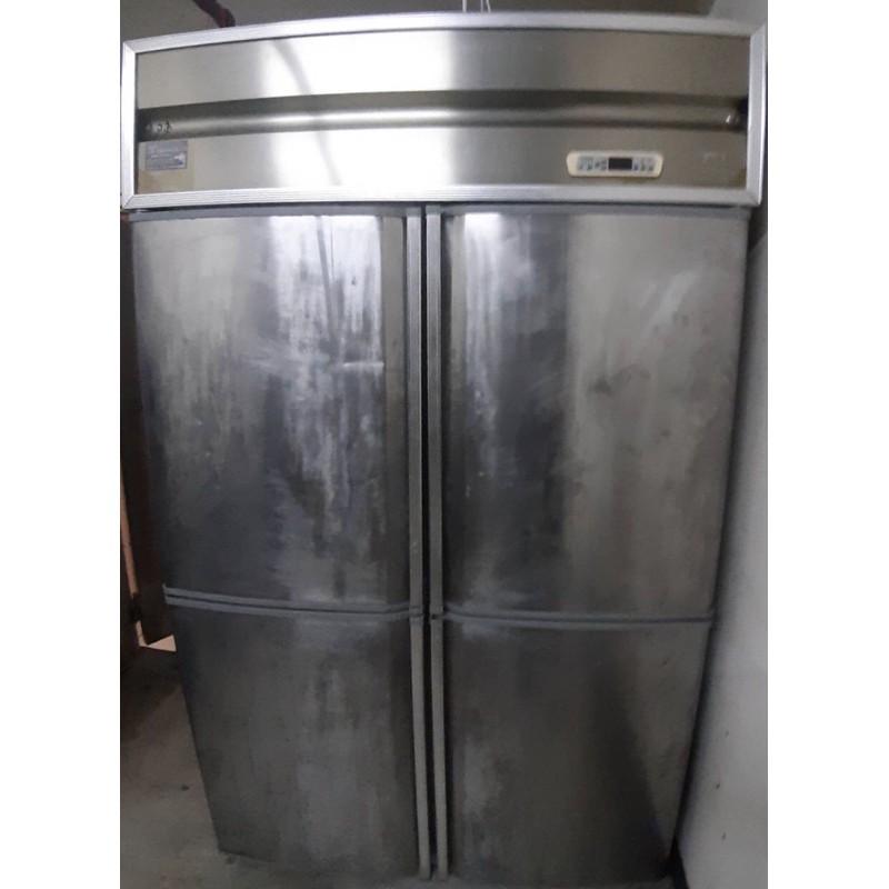 四門白鐵營業用冰箱(風冷式)二手220v