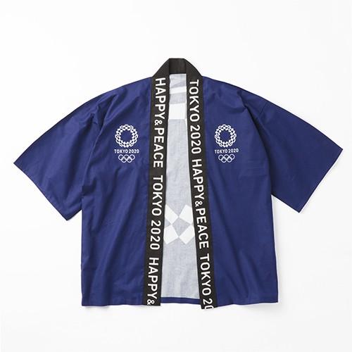 東京奧運 日式加油法被披衣外套 藍色 東奧 紀念品週邊官方商品 現貨商品/預購商品