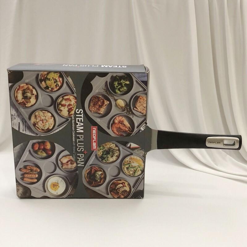 (現貨)韓國空運 NEOFLAM 四格多功能煎鍋含蓋 單柄平底鍋 不沾鍋