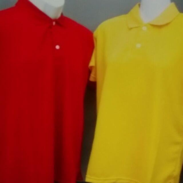 多色,多尺寸,剪接排汗polo衫