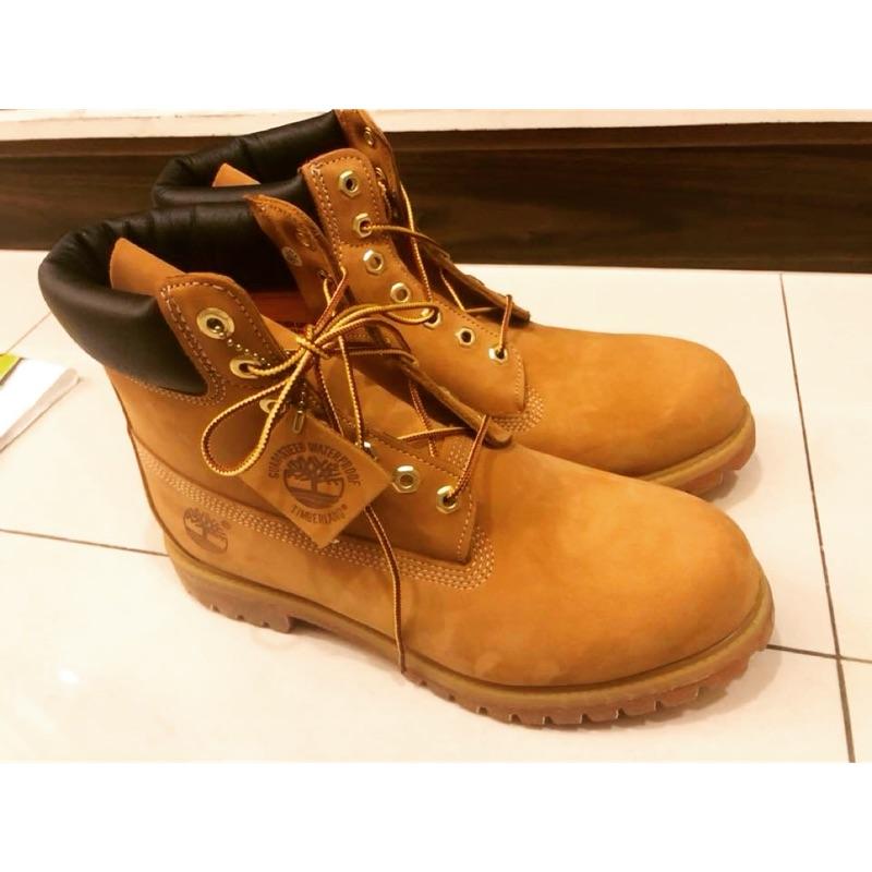 全新 Timberland 6吋 黃靴