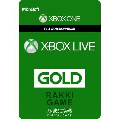 [正版序號] XBOX ONE Series S X XBOX LIVE Gold 金會員 12個月