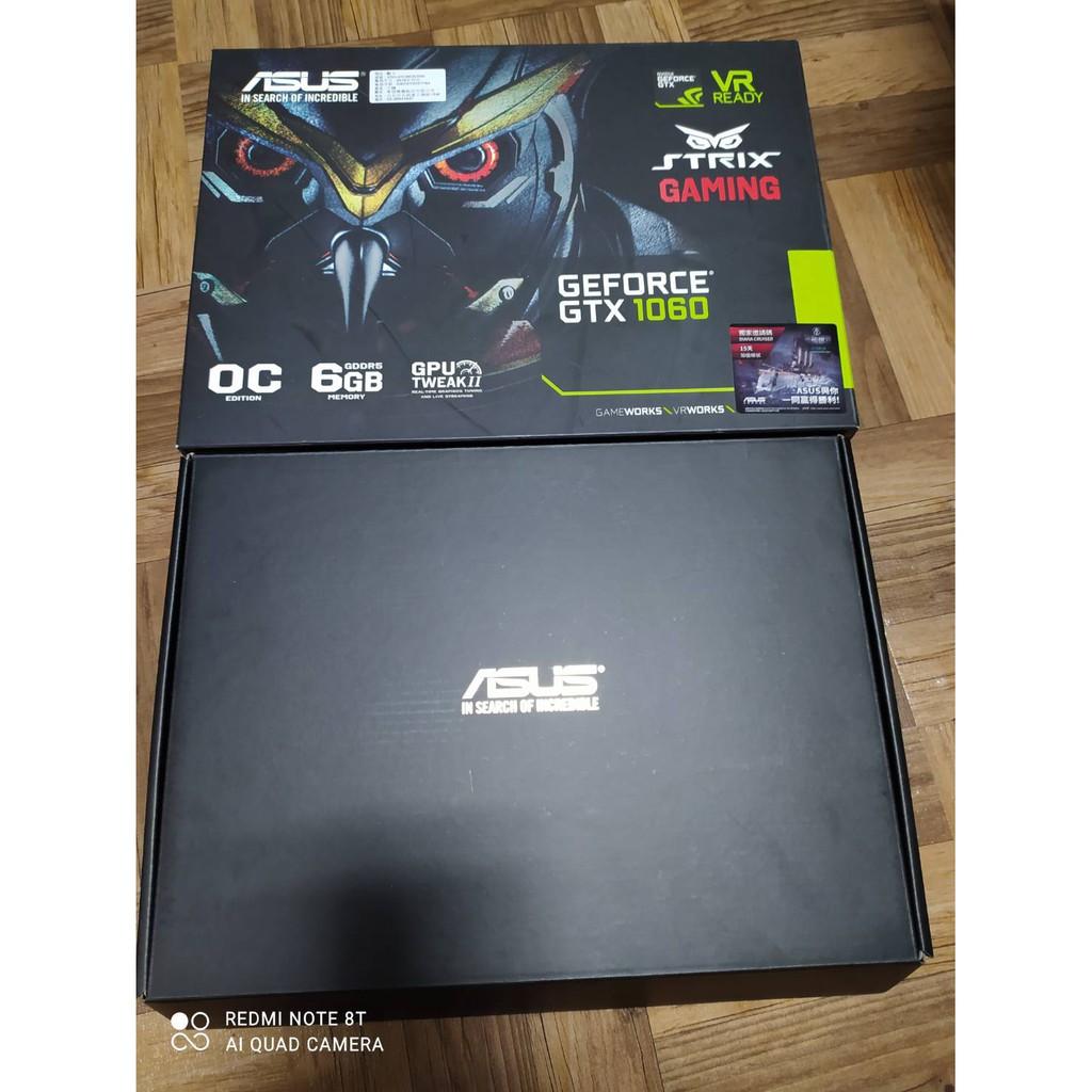ASUS GTX1060 O6G 貓頭鷹 顯示卡空盒