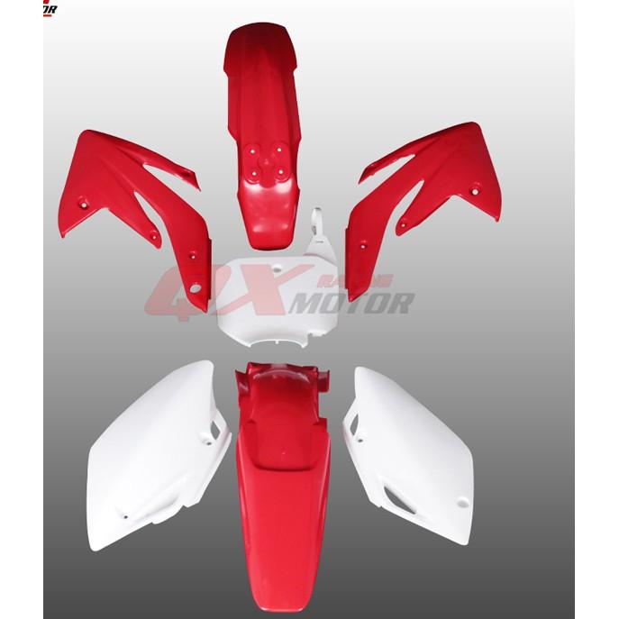 【越野改裝】越野摩托車MX6外殼車殼用于CRF150外殼 用于150外觀件油箱坐墊