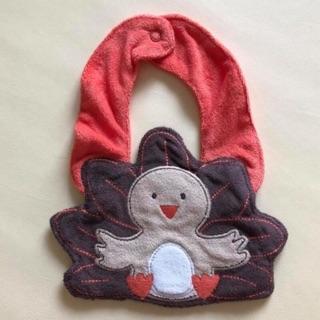 現貨 小雞 小鳥 造型 圍兜兜 口水巾 布料 吸水 卡特 Carter's 嬰幼兒 嬰兒 宜蘭縣
