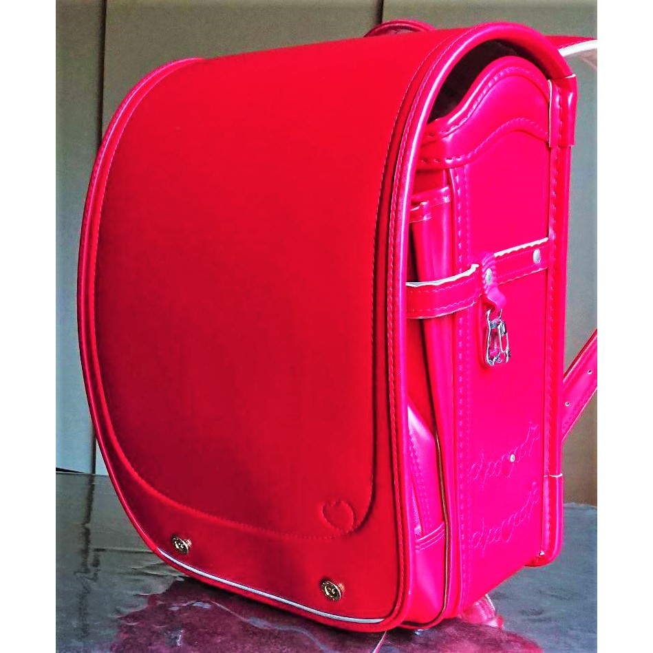 預購【中古探寶B】🔵SEIBAN 天使之羽 日本小學生書包2🔵女孩 女生 背包 文具 開學 兒童 國小 粉色 粉紅