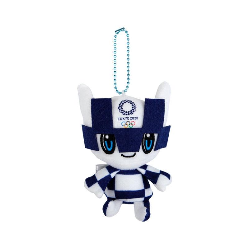 【東京奧運會周邊】2021東京奧運會紀念品吉祥物毛絨公仔玩具日本禮品賽事Miraitowa