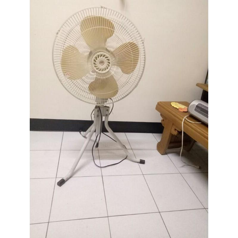 18吋台灣製造工業扇立地電風扇二手好康價588