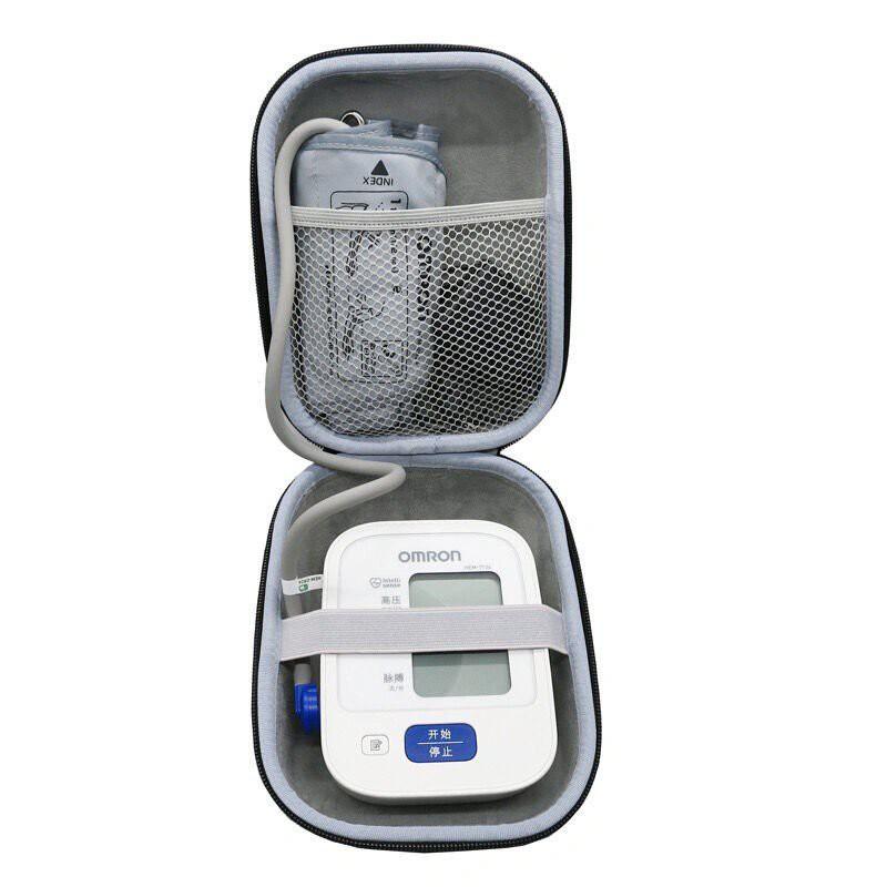 現貨速發適用歐姆龍血壓儀收納盒魚躍電子血壓計測量儀血壓機保護硬包便攜包 QXFj
