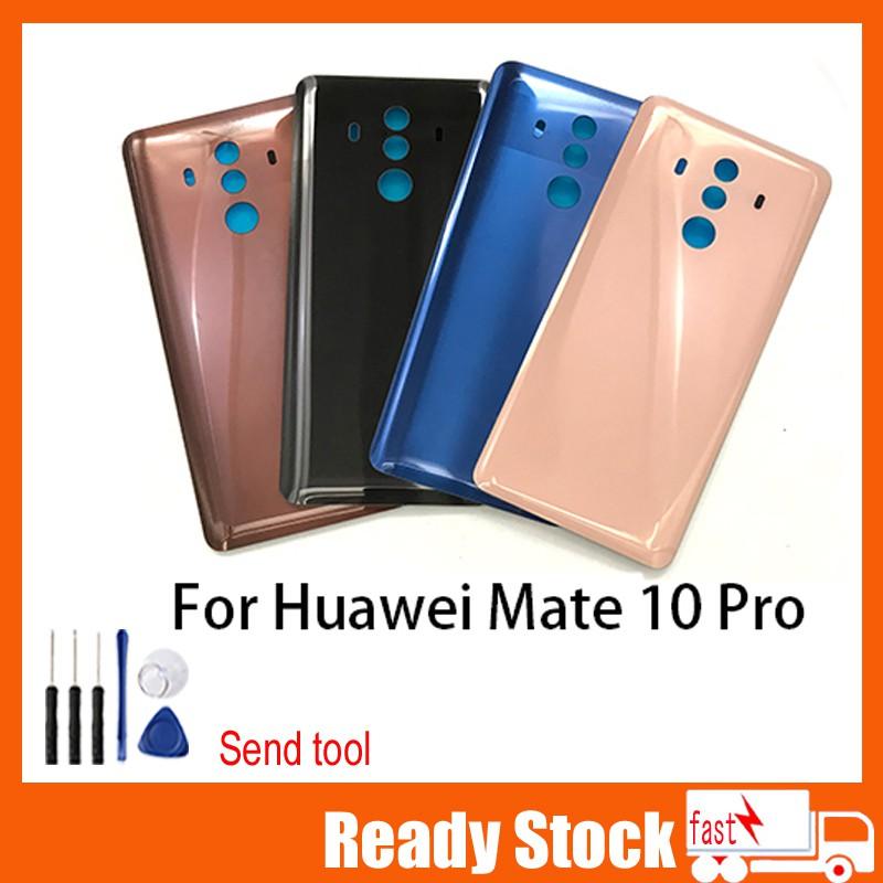 華為 Mate 10 Pro 電池蓋後蓋玻璃電池蓋後殼門盒 Mate10 Pro 後電池蓋更換華為 Mate 10 Pr
