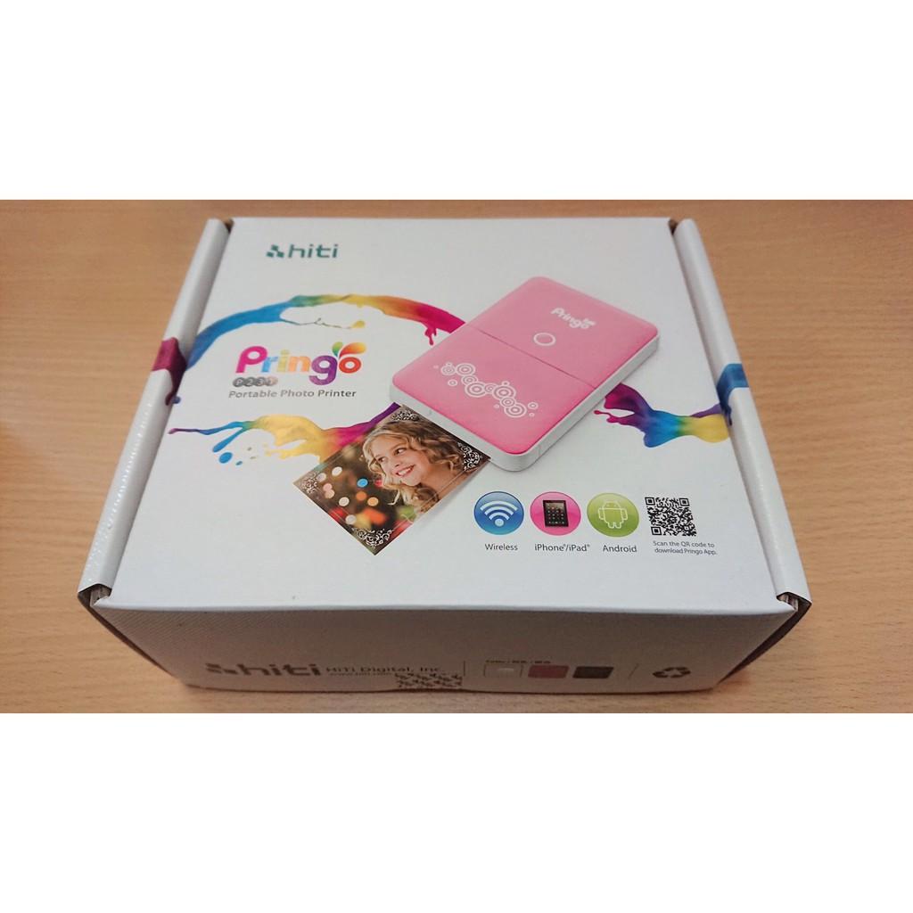 Pringo Hiti P231 相印機(氣質白) + 相紙100張(附色帶10盒) 全新 未拆封