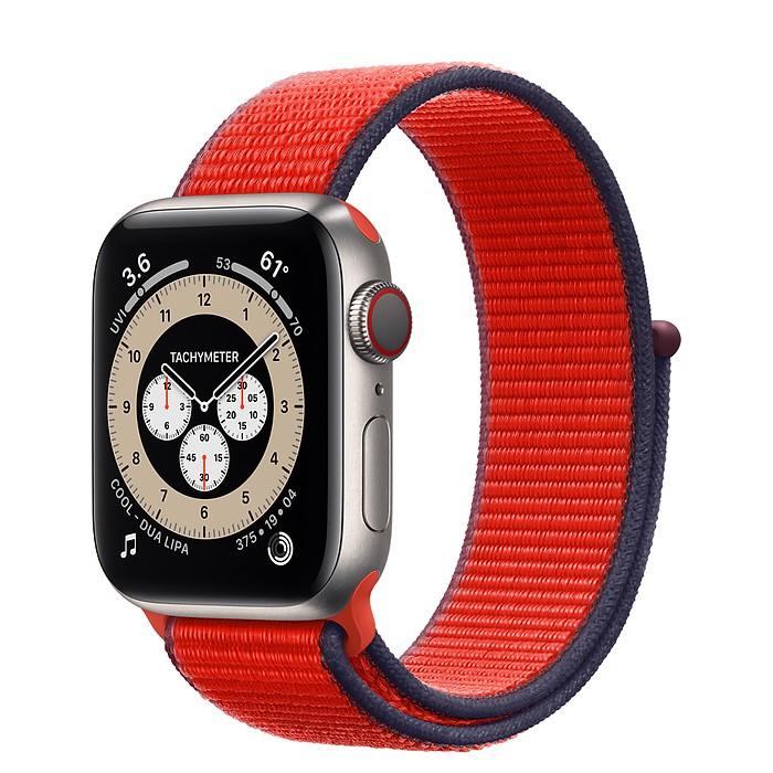 ☆創創通訊☆全新Apple Watch Series 6 鈦金屬 44 公釐錶殼;運動型錶環保固一年 安心有保障